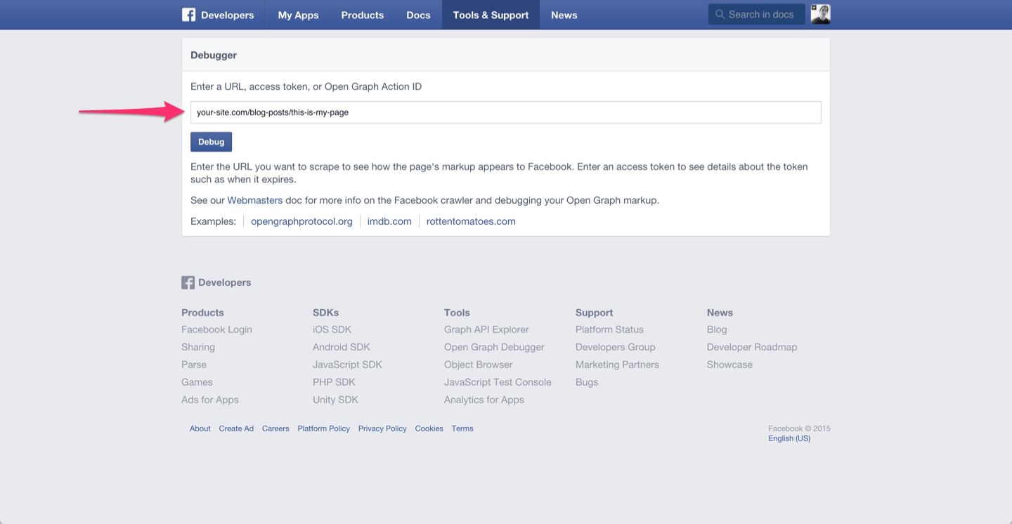 How to troubleshoot/debug Facebook Open Graph issues