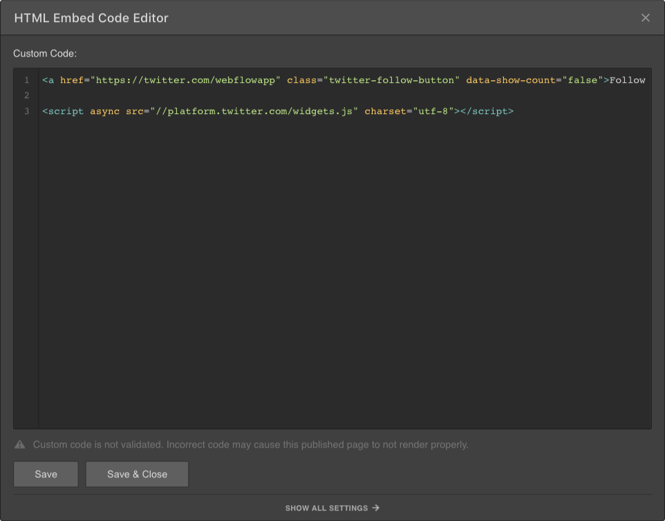 code editor is not availabel
