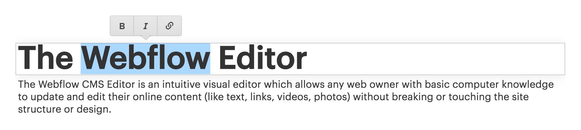 Intro To The Editor Webflow University