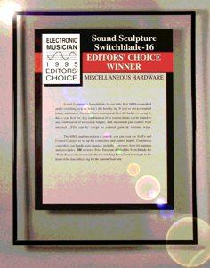 Switchblade wins Editor's Choice Award