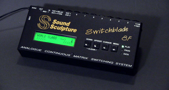 guitar switcher - Switchblade 8F