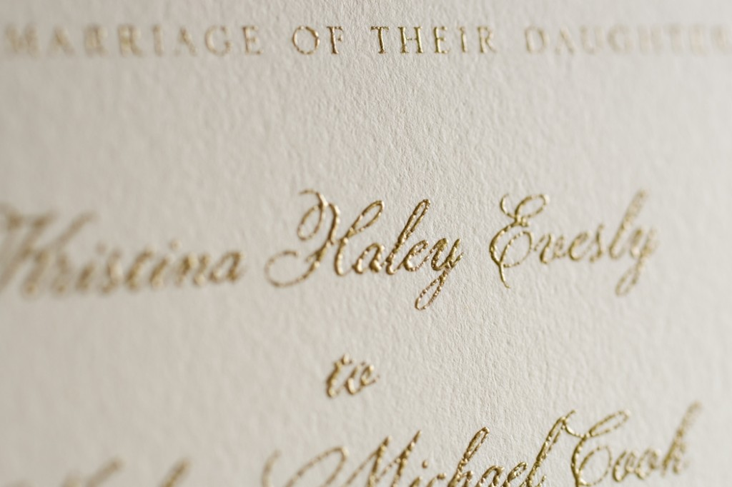 Wedding Stationery Printing | Free Delivery across London