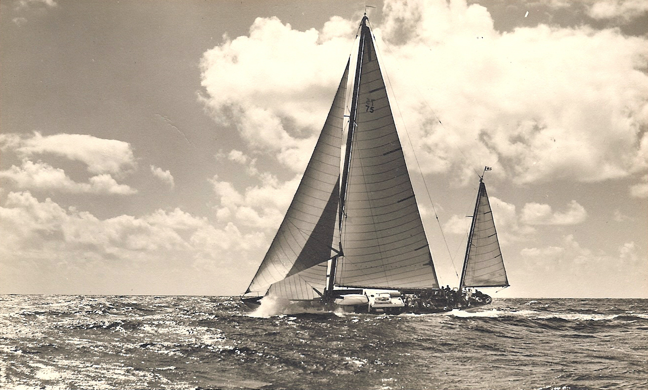 Photo of sailboat Windigo under sail