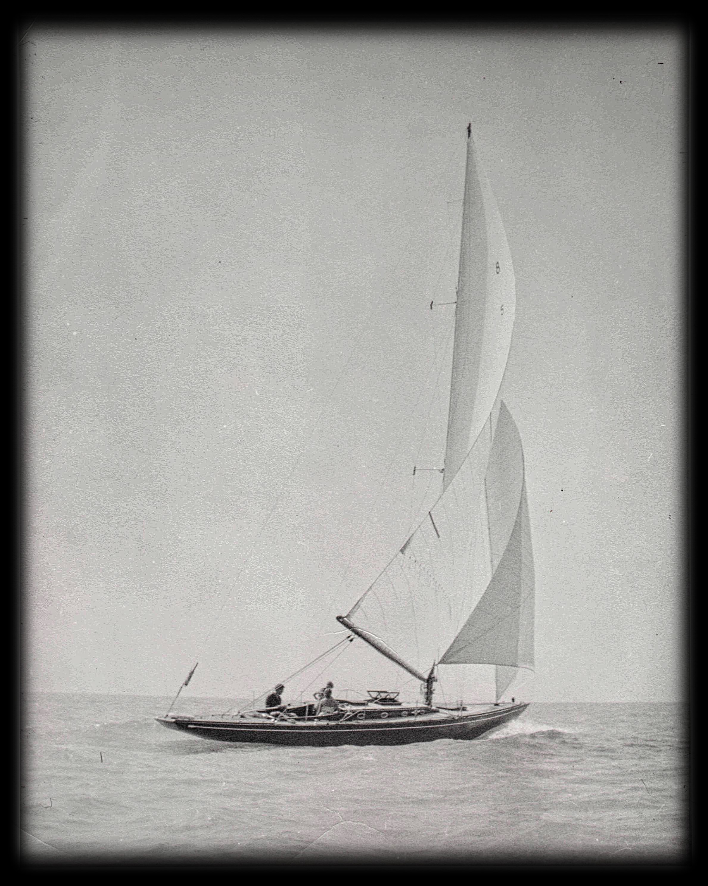 Photo of sailboat Warrior on Lake Michigan