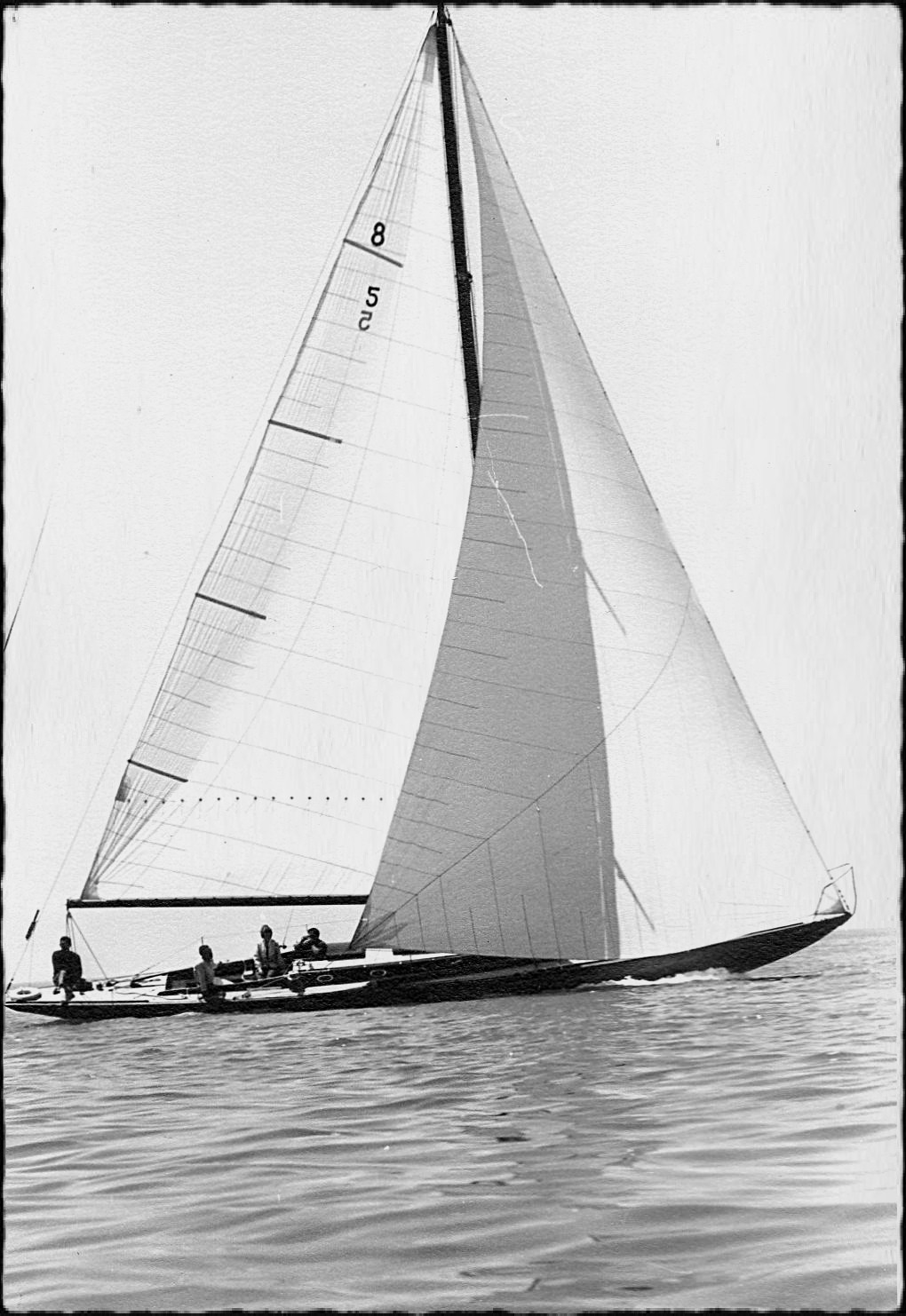 Photo of sailboat Warrior under sail on Lake Michigan