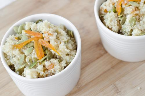 Quinoa has never looked so good