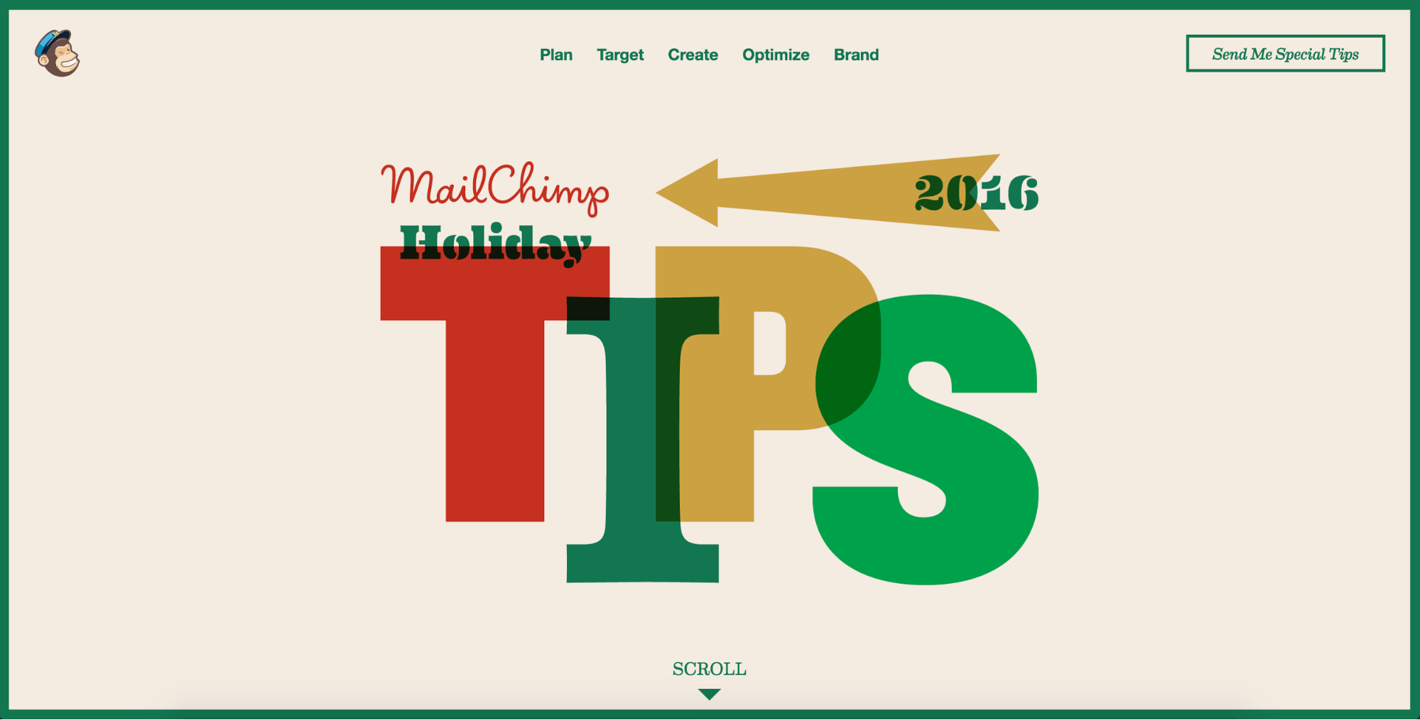 MailChimp holiday marketing tips