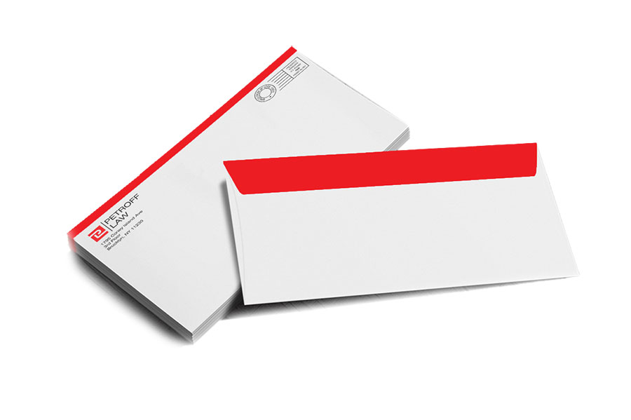 full color envelopes nyc