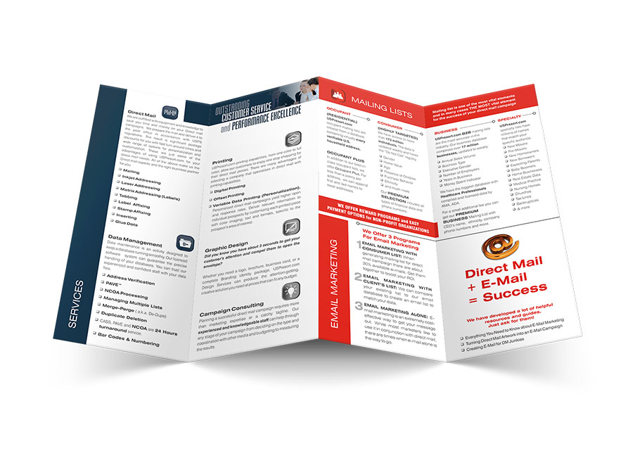 brochure printing and mailing nyc