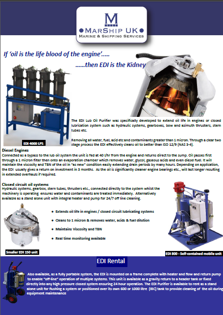 EDI Lube Oil Purifier Brochure