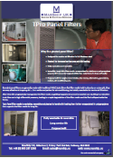 made to measure panel filter brochure