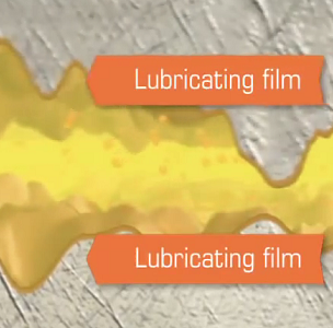 Lubricating film on vital components