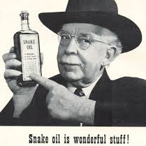 Snake oil and Fuel additives