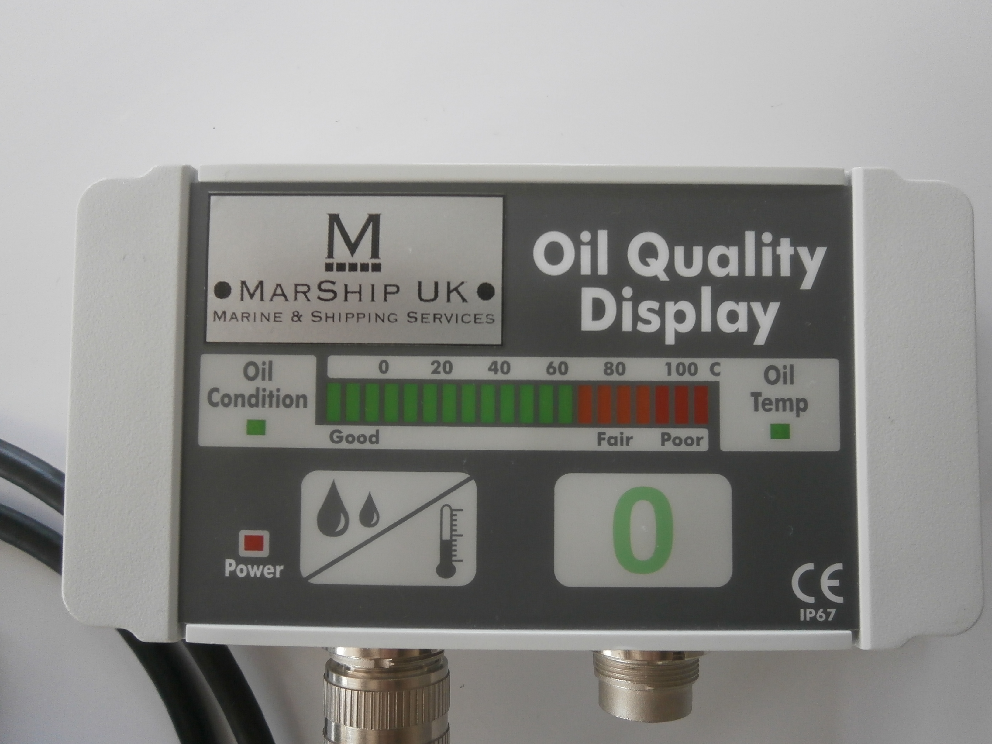 Real ime oil monitor