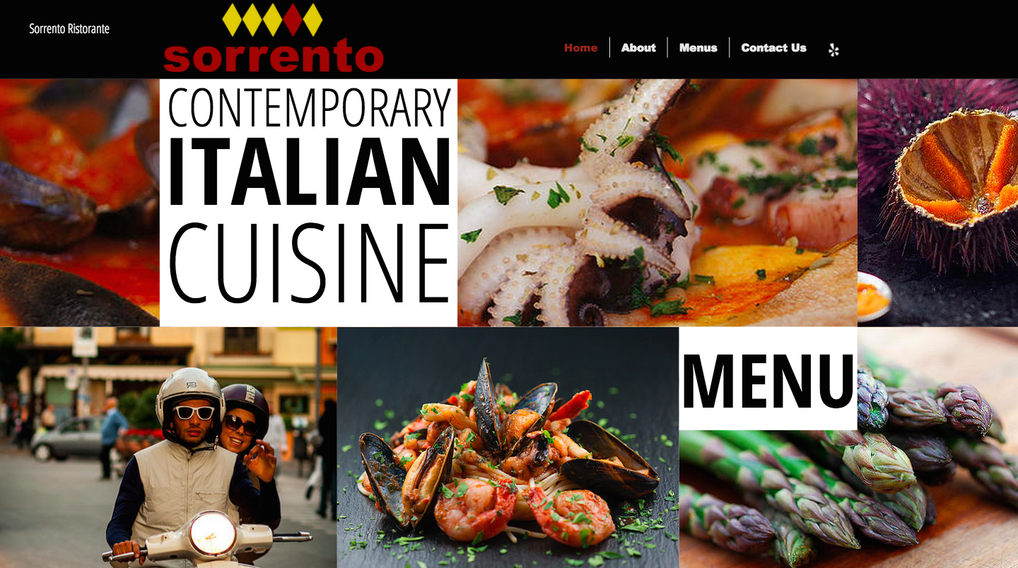 Best Website designer squarespacestudio Restaurant web design