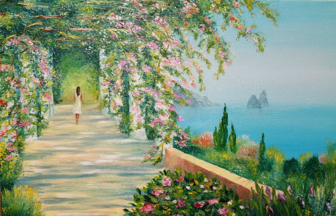 Пейзаж на море