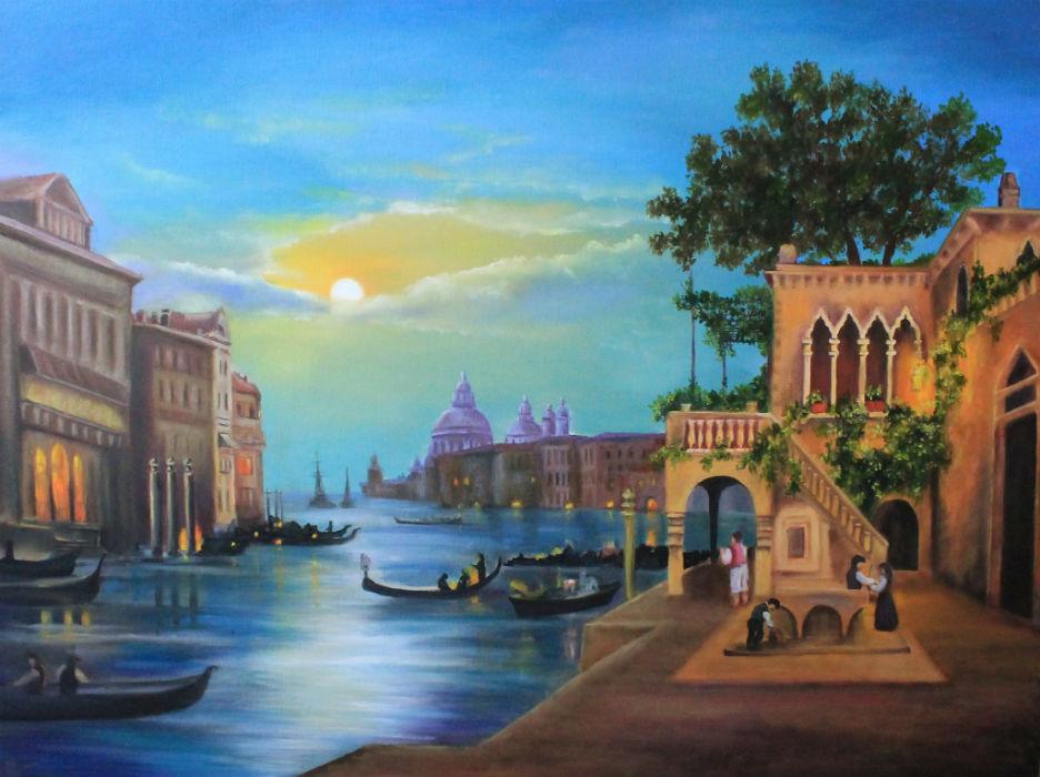 Венеция под луной