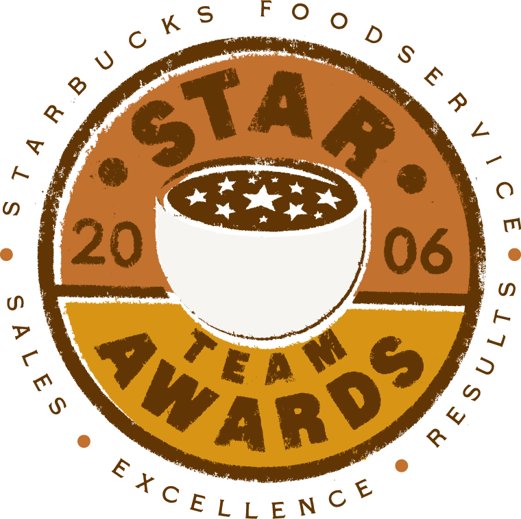 Starbucks Foodservice Star Team Awards Logo