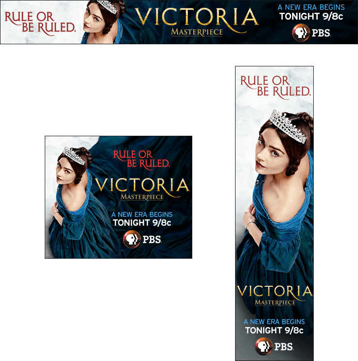 Victoria Static Banners