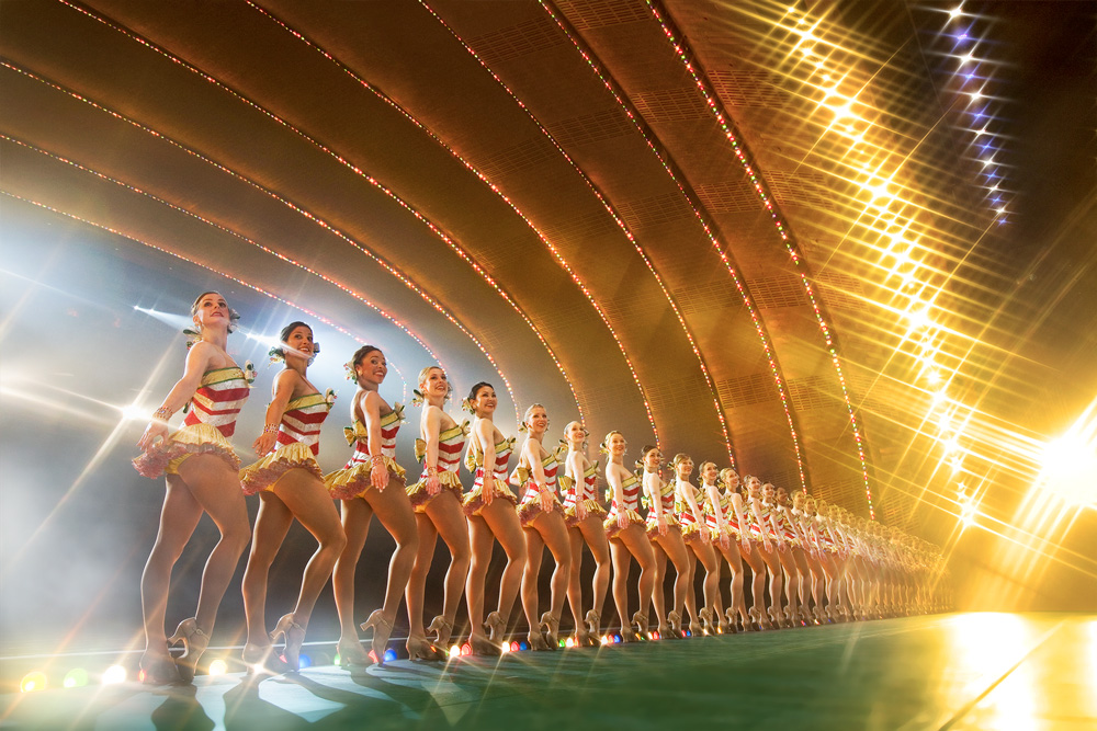 Rockettes Retouched image