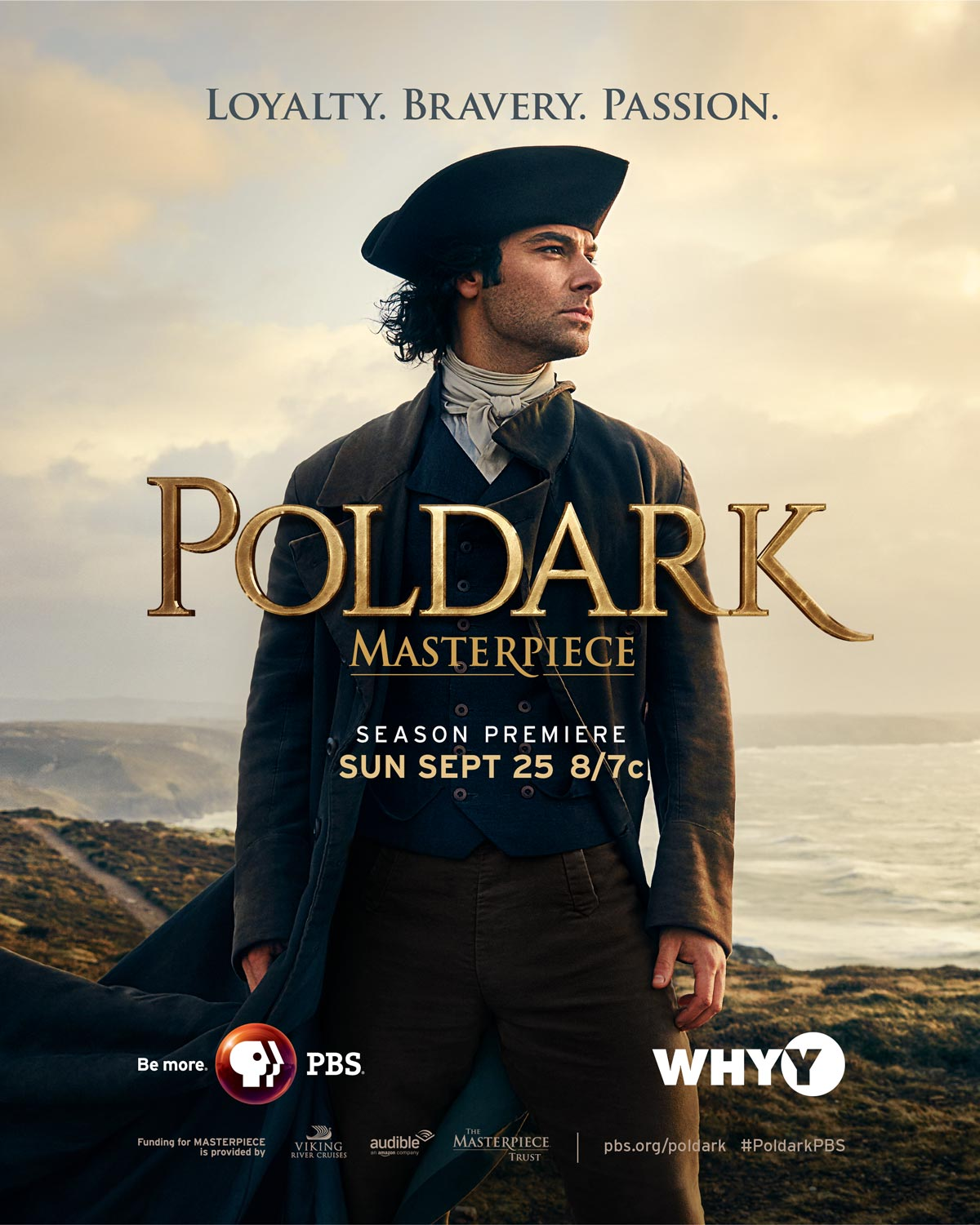 Poldark Season 2 full page ad
