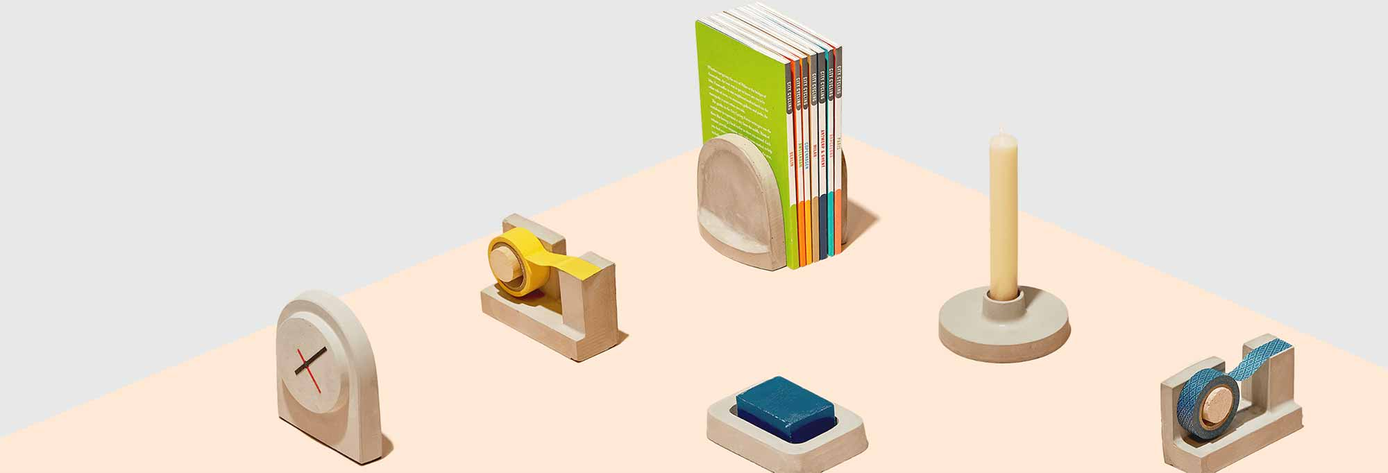 collection of objects made with FormBox