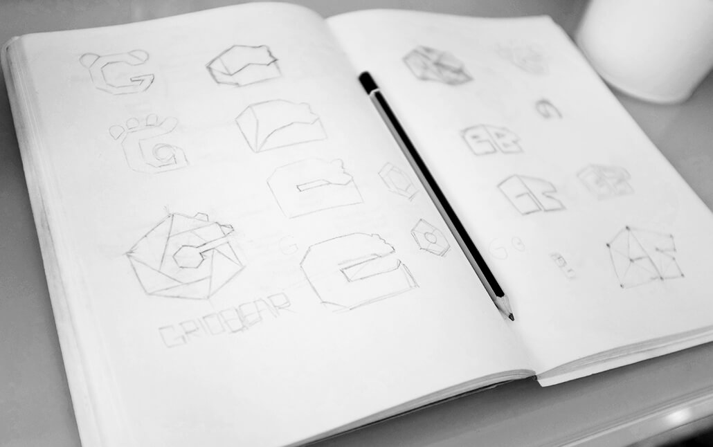 Grid Bear Ideation & Sketches