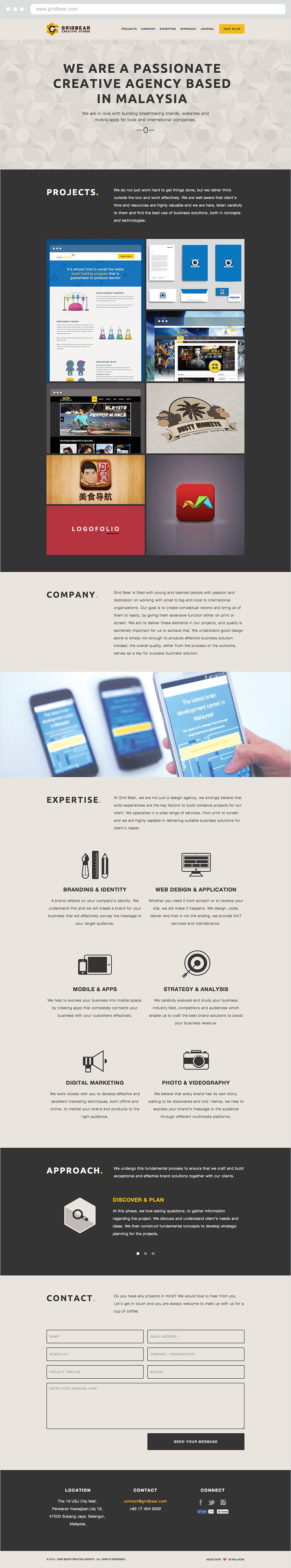 Grid Bear Website Design & Development