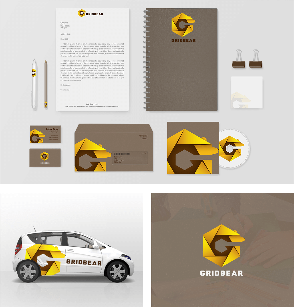 Grid Bear Collateral Designs
