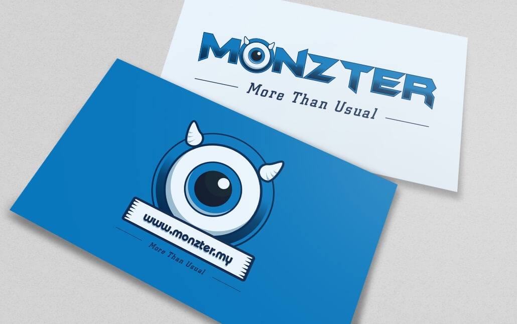 Monzter Collateral Designs - Name Card