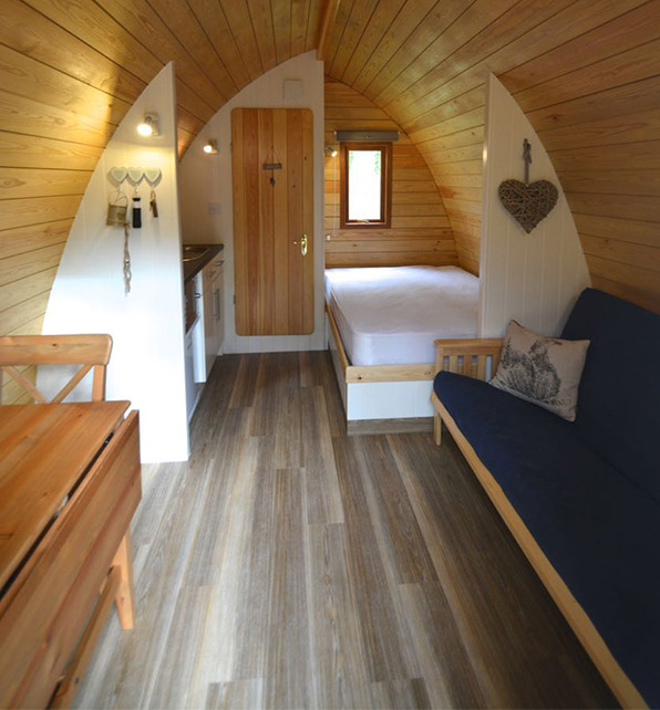 Luxury Mega Glamping Pods In Norfolk Deer S Glade