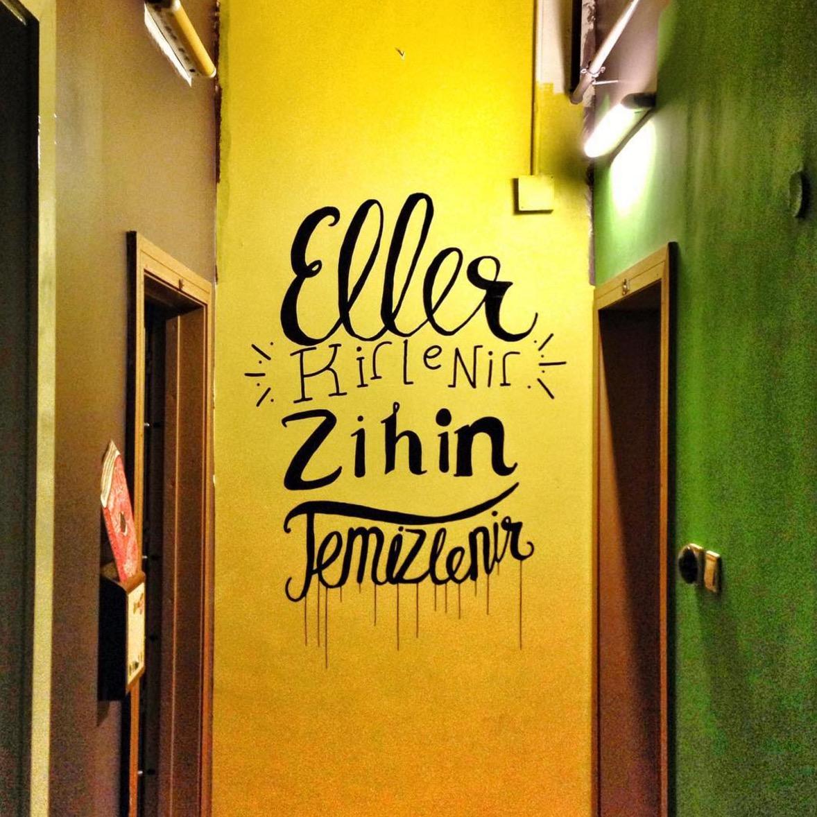 Koridora kaligrafi