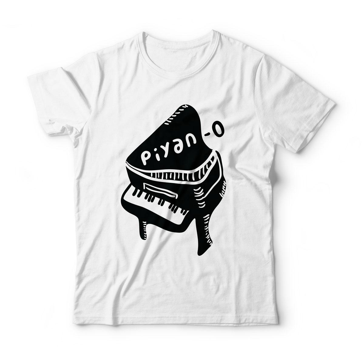 Piyano lu Tişört