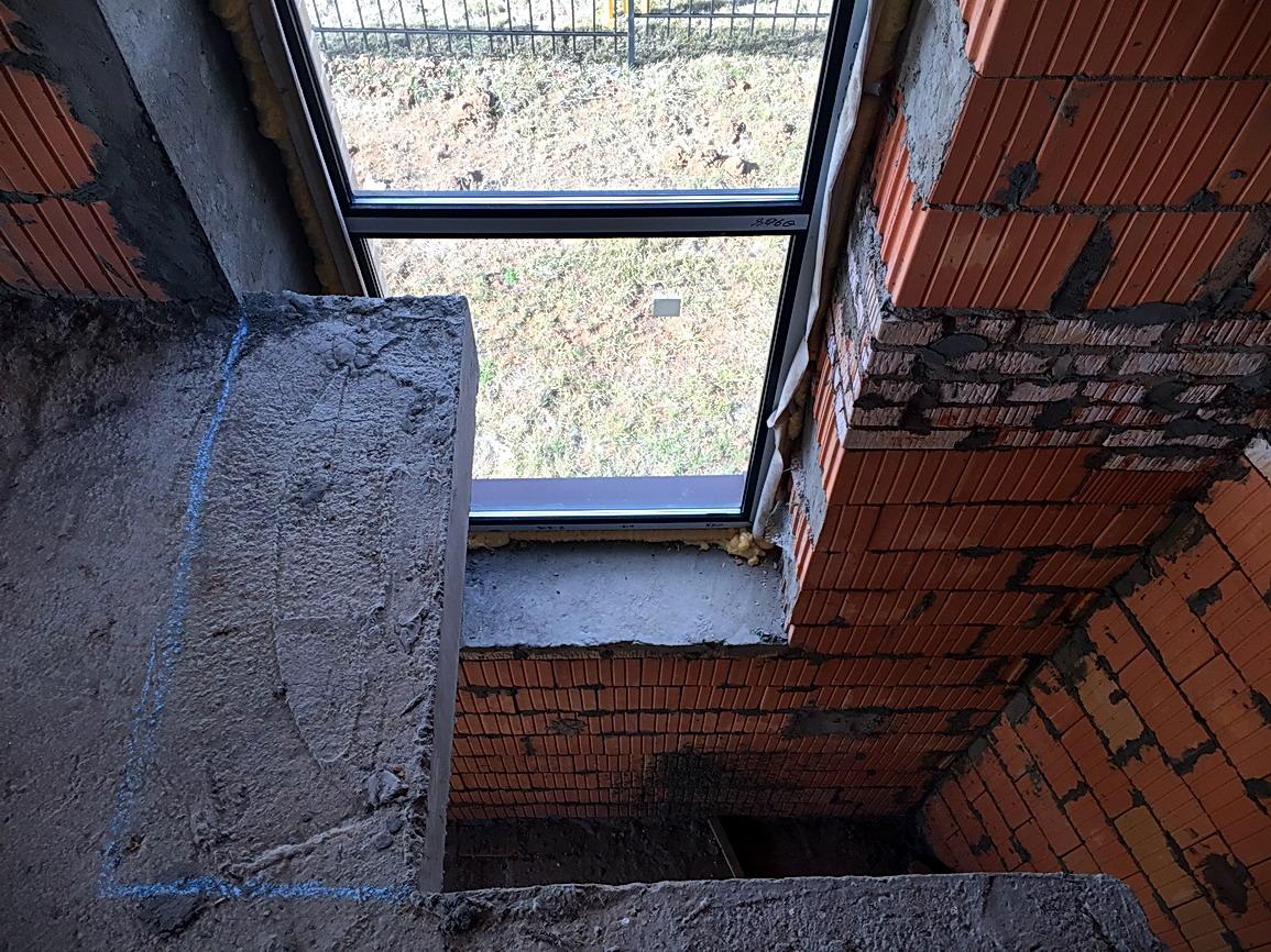 Проект перекрытия под бетонную лестницу