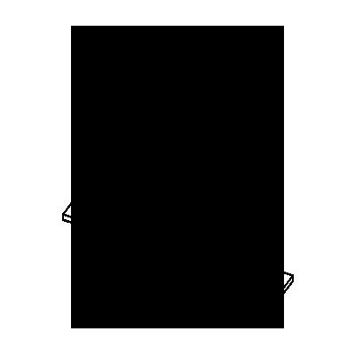 Двух маршевая бетонная лестница Г-образной формы с прямой поворотной площадкой