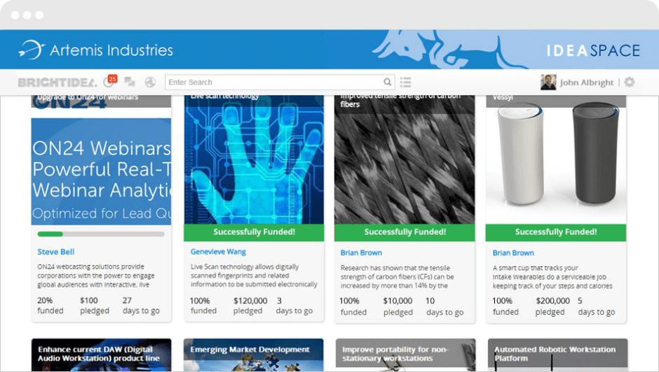 Software de Gestão da Inovação - capturando recursos com Crowdfunding