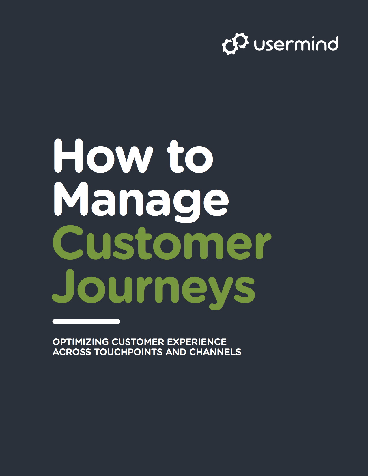 How to Manage Customer Journeys