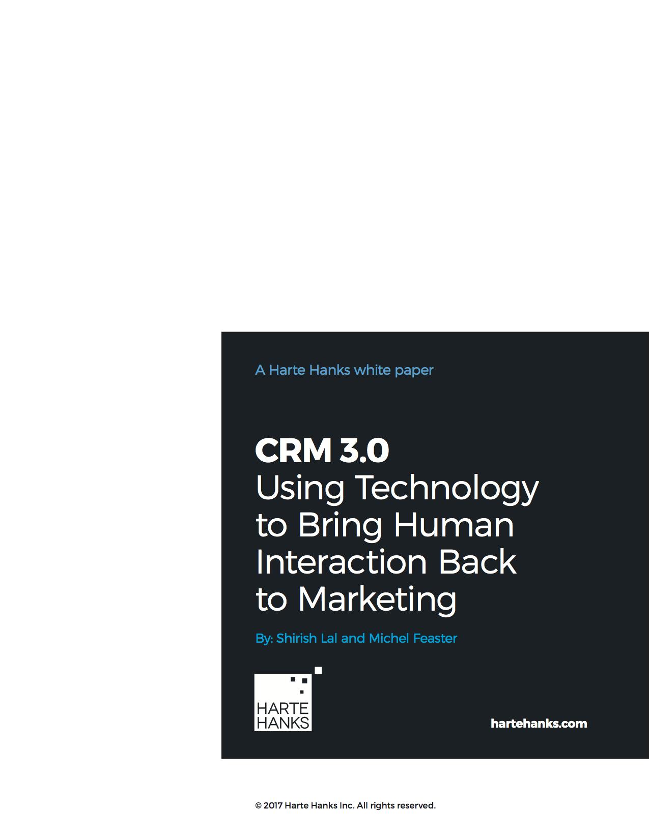 Harte Hanks: CRM 3.0