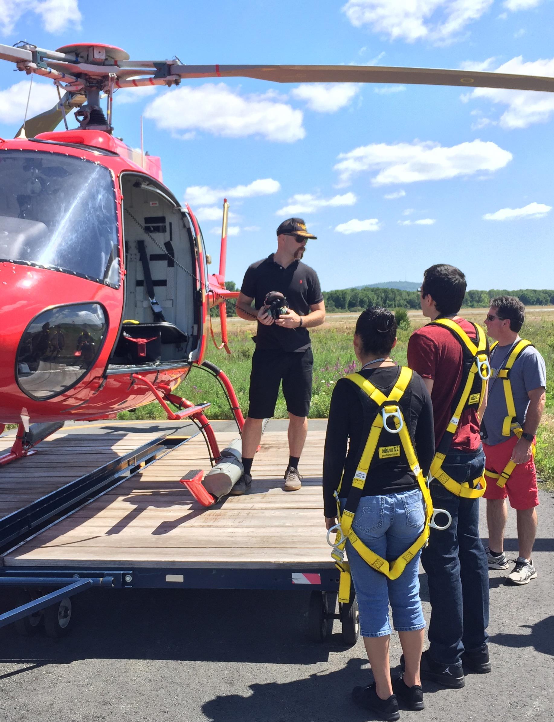 Team Building Helicopter Flights