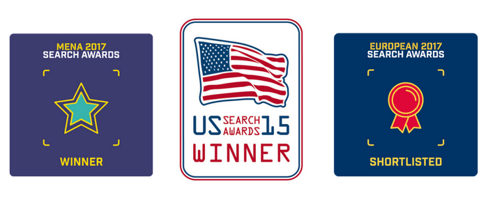 Optmyzr Winner of 2015 US Search Awards - Best PPC Management Software