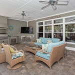 Intracoastal Home-covered lanai