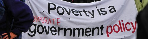 poverty is a  government policy