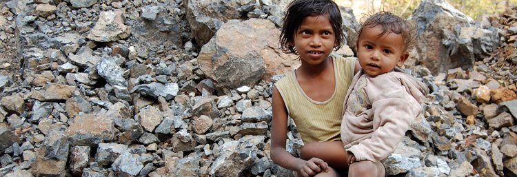 Child labour in Indian slums
