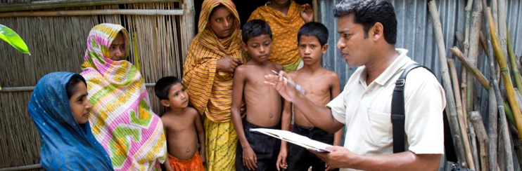 Anti-poverty programs in rural Bangladesh