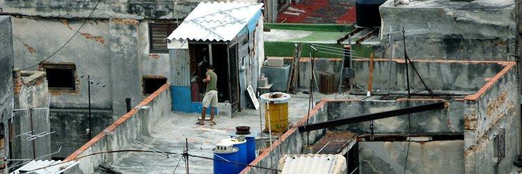 Urban life & slums in Cuba