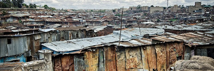 Slums & urban poverty in Kenya
