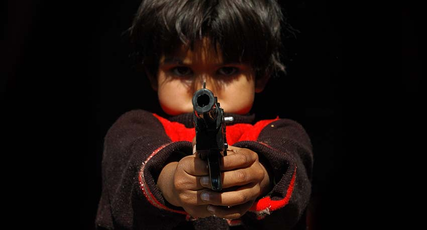 how to break the cycle of violence and terrorism in India