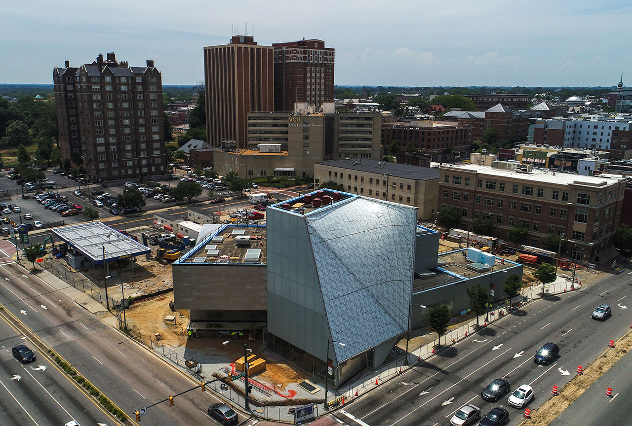 The New VCU Institute for Contemporary Arts - Under Construction