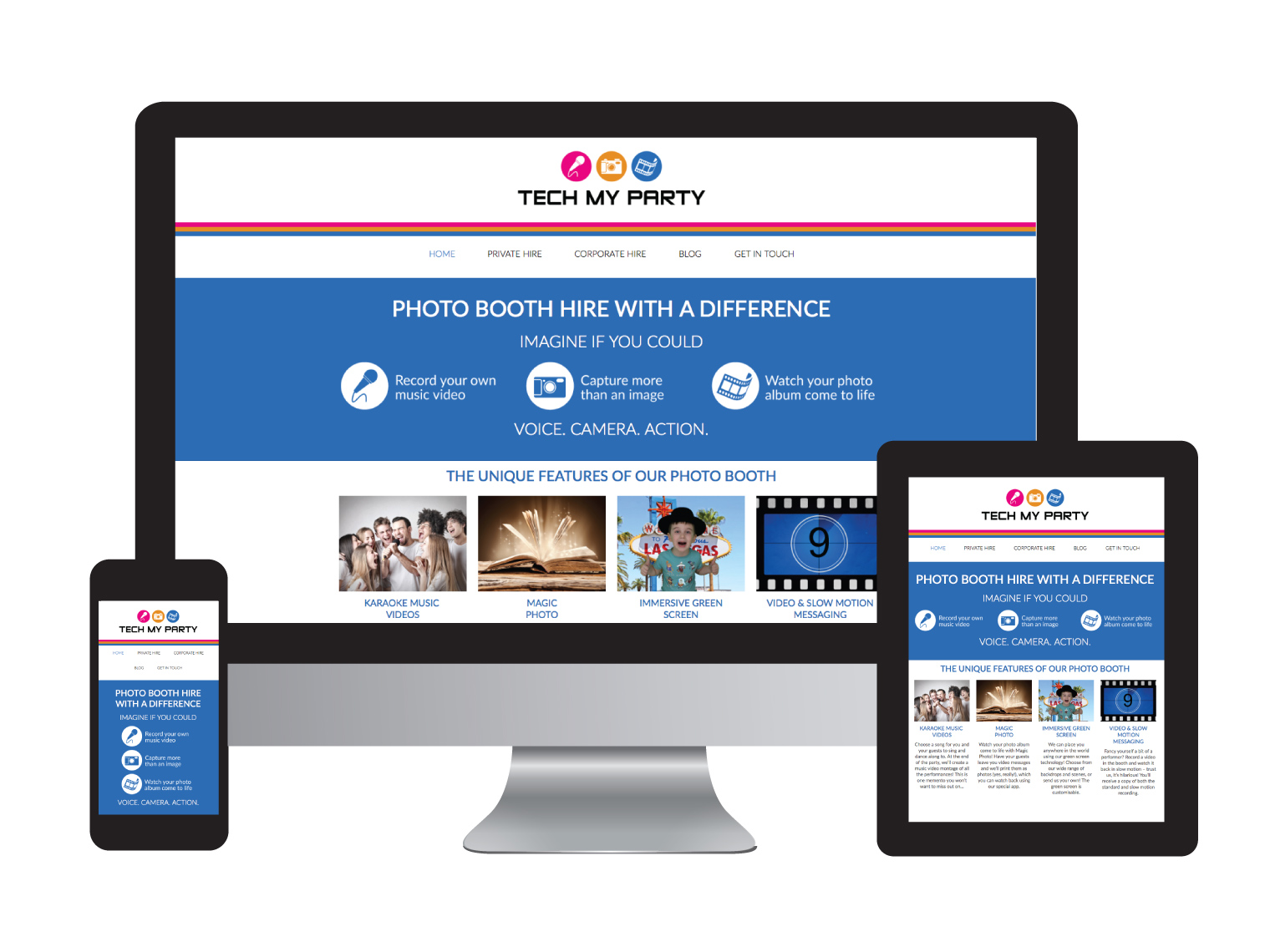 Tech My Party - Design in the Shires   Web Design Worcestershire   Graphic Design Worcestershire   Website Designers Malvern, Worcestershire UK