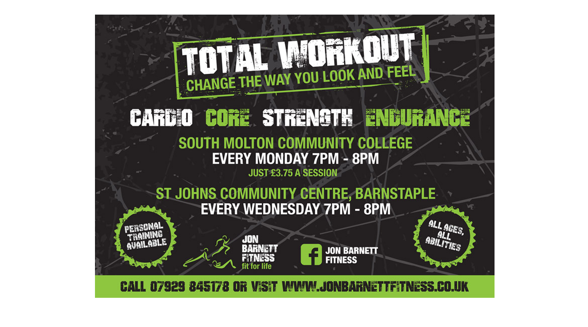 Jon Barnett Fitness - Design in the Shires | Flyer Design | Web Design Worcestershire | Graphic Design Worcestershire | Website Designers Malvern, Worcestershire UK
